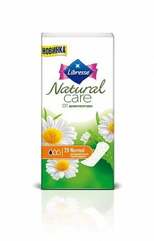 Прокладки женские Libresse Natural Care Ultra Normal (Wing), 20 шт