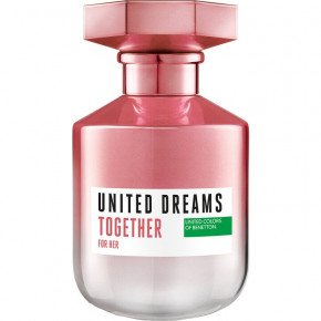BENETTON Туалетная вода UNITED DREAMS Together for HER 50 мл