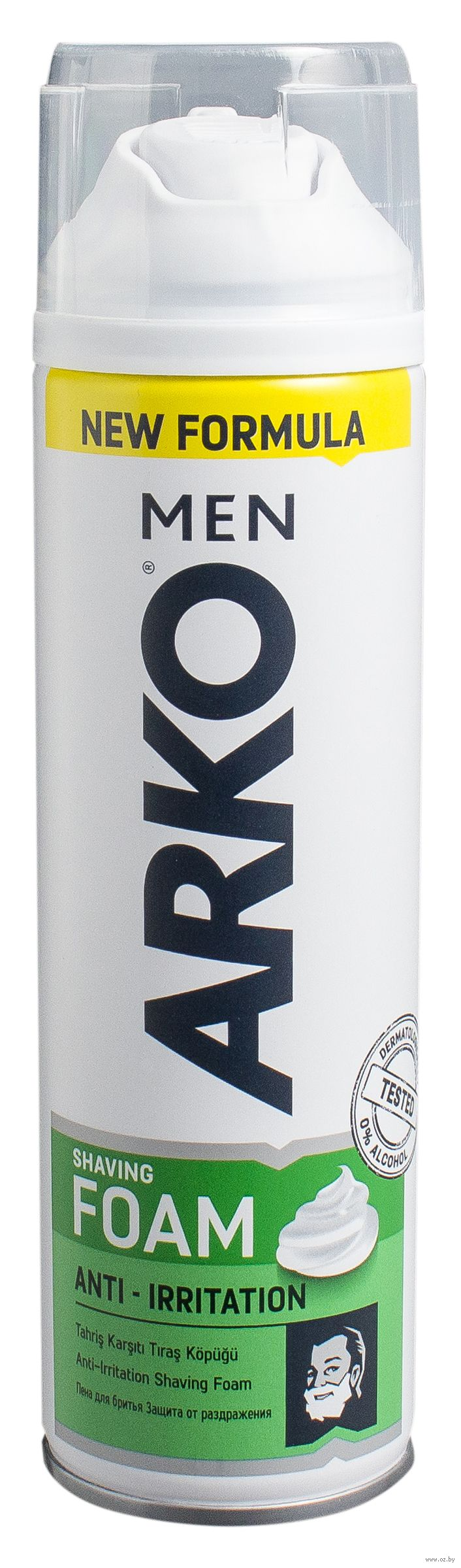 ARKO MEN пена для бритья Anti-Irritation 200 мл (камуфляж)